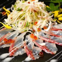 오늘의 생선 카르파초