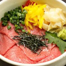 와규 붉은살 덮밥