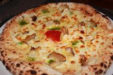 마늘 피자