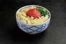 명란젓 치즈 오코노미야키