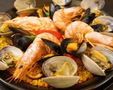 스페인식 해물 볶음밥