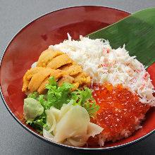 삼색 덮밥