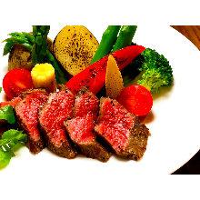 와규 붉은 고기 스테이크