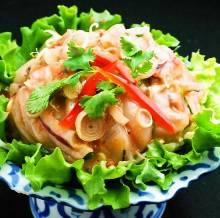 태국식 오징어 젓갈