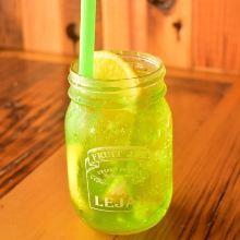 Green and Fresh Lemon Ginger