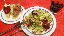 새우와 아보카도 샐러드