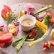 이탈리아 온 야채 샐러드