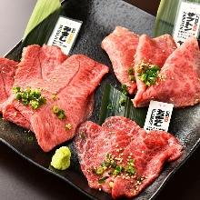 고기 구이 모둠 3가지