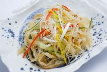 중화 해파리 샐러드