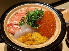 질냄비 밥 (해산물)