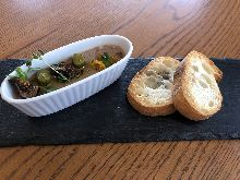 토종닭 시로레바(지방간) 파테