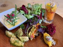 야채 요리