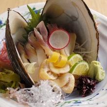 함박조개(회)