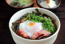 텟카 네기토로 덮밥