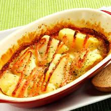 감자와 명란젓 치즈 구이
