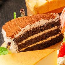 캐러멜 초콜릿 케이크