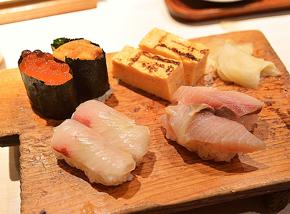 카운터의 스시가 4,000엔으로 무제한 리필!토리츠다이의 「신타나카」가 너무 멋있었다