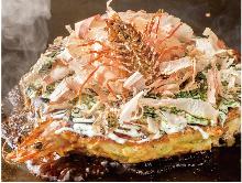 소고기 해물 오코노미야키