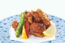 토종닭 튀김