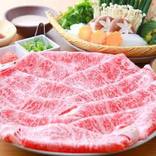 와규 샤부샤부 야채 포함