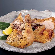 닭 반마리 튀김