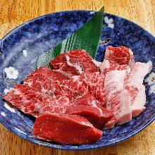 모둠 와규 붉은 고기