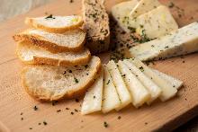 모둠 치즈 4가지