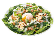 온천 달걀 시저샐러드