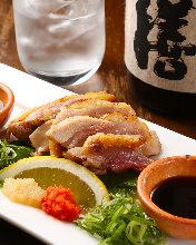 토종닭 타타키