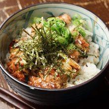 닭꼬치 덮밥