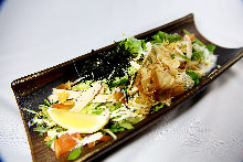 찜 닭 샐러드