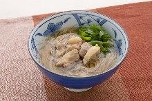 닭 난반(소바 또는 우동)