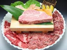 마블링 고기 구이
