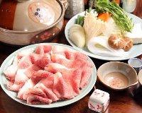 "Experience ""Omi Beef Shabu-shabu"" with this store's prided handmade ponzu sauce!"