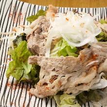소고기 샤부샤부 샐러드