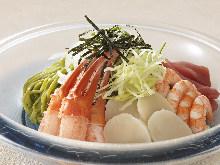 해산물 샐러드, 드레싱 선택 가능