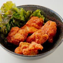 매콤 닭 튀김