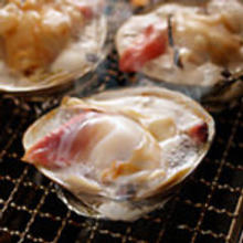 활함박조개 껍질 구이