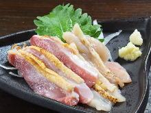 토종닭 육사시미