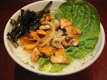 닭고기 덮밥