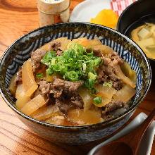 소고기 덮밥 정식