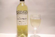 glass wine white