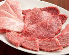 고기 구이 모둠(붉은 고기류)
