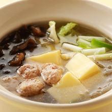 두부 수프