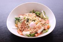 온천 달걀 샐러드
