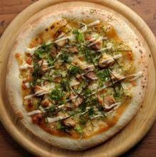 마요네즈 콘 피자