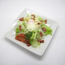 온천 달걀 시저 샐러드