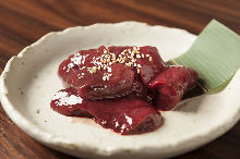 소 간(고기 구이)