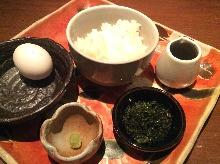 날달걀 밥