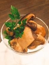버섯 요리